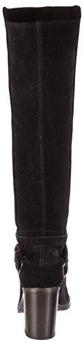 Fred Mit De Blockabsatz Stiefel Donna Stivali black La Bretoniere Langschaft 0001 Nero BwrnqdZBX
