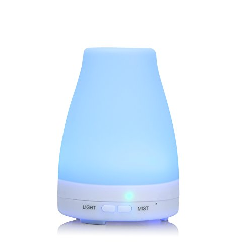 UPROWER Essential Oil Diffuser, Ultrasonic Aromatherapy Diff