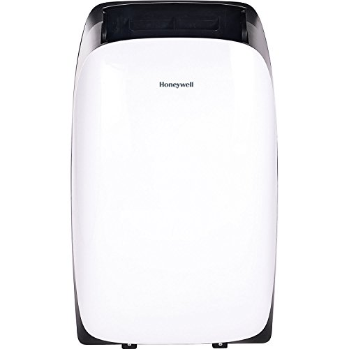 Honeywell HL12CESWK Contempo Series Portable Air Conditioner, Dehumidifier & Fan with Dual Filtration System, 12000 BTU, Black/White