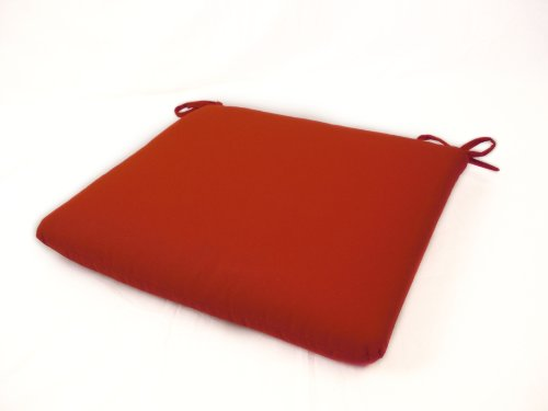 Sunbrella Outdoor/Indoor Seat Pads by Comfort Classics Inc. in Jockey Red (Sunbrella Red)
