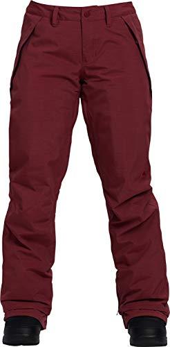 (Burton Society Snowboard Pants Port Royal Heather Womens Sz S)