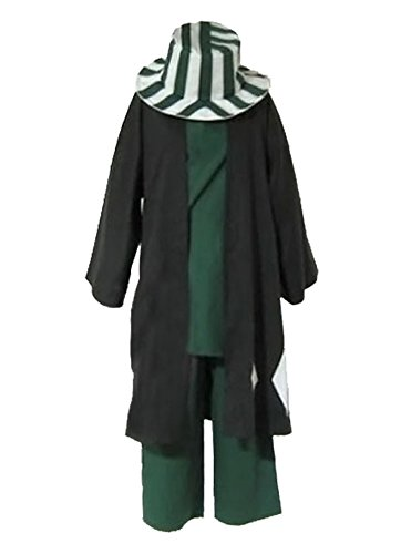 fantasycart Anime Animation Bleach Urahara Kisuke Cosplay Costume with Hat M