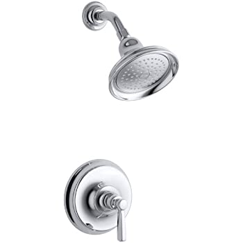 kohler kt105834cp bancroft ritetemp shower faucet trim polished chrome