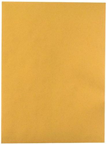 Quality Park 41467 Quality Park Catalog Envelopes, Heavyweight/Gummed, 9x12, 28lb, Kraft, 100/Box (Kraft Quality Gummed Park Paper)