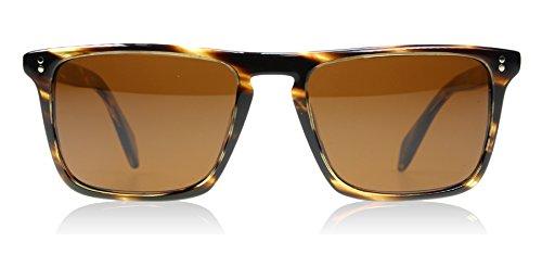 Oliver Peoples 5189 1003N9 Cocobolo Bernardo Wayfarer Sunglasses Polarised - Sunglasses Buy Polarised