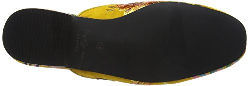 Damen Gelb Pepe Rugby Slipper Yellow Art Jeans Klimpt pgq8Fxz
