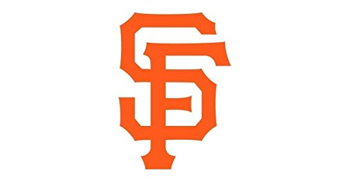 San Francisco Giants 'SF' Set of (2) or Single Die-Cut Vinyl Auto Decal or Laptops, Yeti, ()
