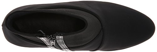 Stretch Belle Black Women's Leather Black Crinkle Naot Boot Patent SwzaxqFUZ