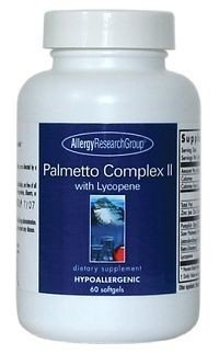Allergy Research Group Palmetto Complex II with Lycopene -- 320 mg - 60 Softgels