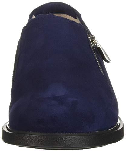 Blue Flat BeautiFeel Navy Dark Women's Loafer Suede 5qOOwfT