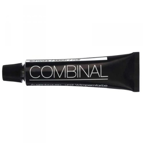Combinal Dye For Eyebrows and Eyelashes Black Tint 15ml Dr. Temt Laboratories 0227100