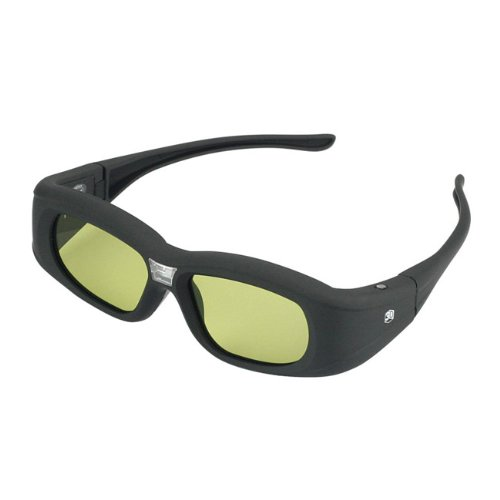 SainSonic Galilei Series SS-932 120Hz IR Active Rechargeable Shutter Glasses for 3D DLP-Link Ready Projector Optoma 3D-XL, HD300X, HD131X, HD25, HD33, HD67,GT750, Acer 5680, H5360BD, LG PA70G, Viewsonic
