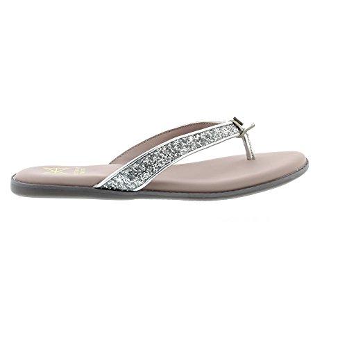 Butterfly Twists Bondi - Silver Glitter (Man-Made) Womens Sandals hdZ9CWcj2