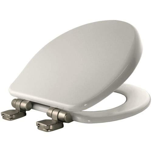 Bemis 9170NISL 000 Slow Close Round Closed Front Toilet Seat, White