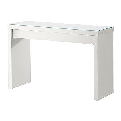 Tavolo Consolle Malm.Ikea Malm Tavolo Da Toeletta Bianco 120 X 41 Cm Amazon
