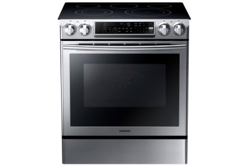 electric range top with downdraft - 2