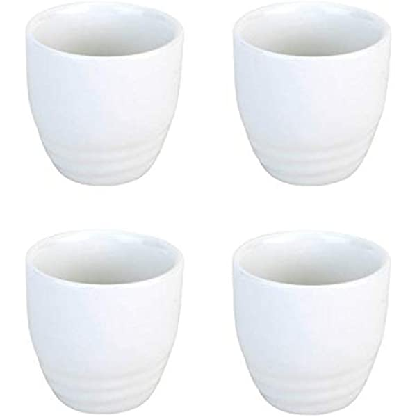 4pcs Sake Cups Exquisite Japanese Style Wine Cup for Tea Sake Coffee Water Wine