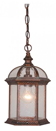 Vaxcel One Light Outdoor Pendant OD39786RBZ One Light Outdoor Pendant (Chateau Outdoor Pendant)