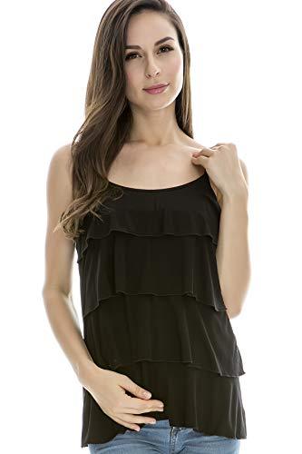 Bearsland Women's Maternity Nursing Tank Tops Sleeveless Breastfeeding Clothes