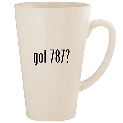 (got 787? - White 17oz Ceramic Latte Mug Cup)