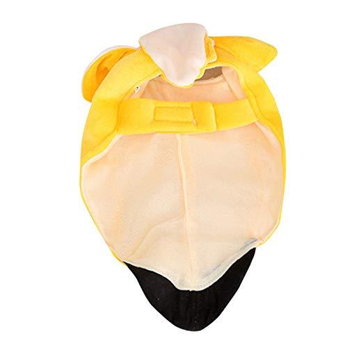 Dog Dress - Banana Tunic Funny Theme Fancy Dress Halloween Pet Dog Costume Dog Winter Coat Jacket Pet Party Clothes -