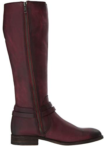 Belted Melissa Boot Wine High Frye Tall Knee Women's OE5vxwqg