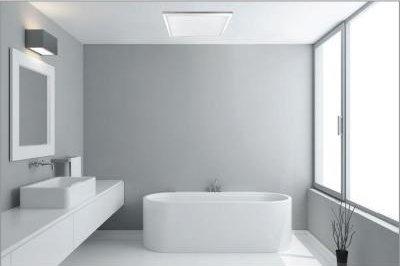1 ft. x 2 ft. White LED Edge-Lit Flat Panel Flushmount