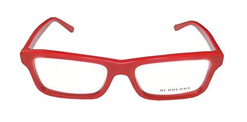 Burberry - BE 2187, Geometric, acetate, men, RED(3364), - Usa Luxottica