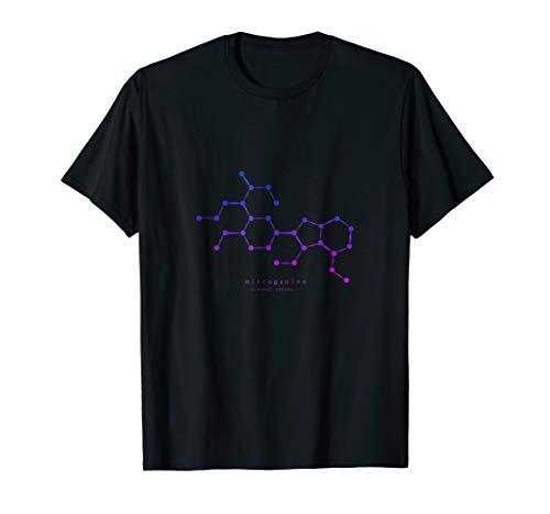 Colorful Kratom Molecule T-Shirt - Nootropics Kratom (Best Nootropics On Amazon)