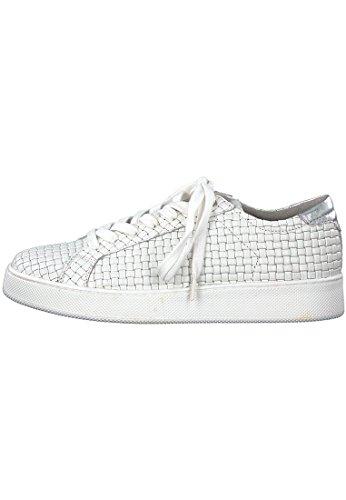 Chaussures 23637 1 Ville Blanc Pour 1 White à Blanc 20 100 Lacets Femme de Tamaris 5EXAqw0