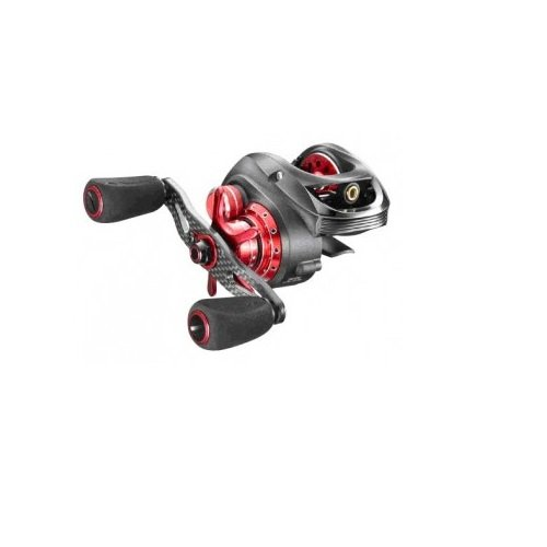 Pinnacle PR10Xi Primmus Xi Baitcast Reel, Gray Body Red Accent