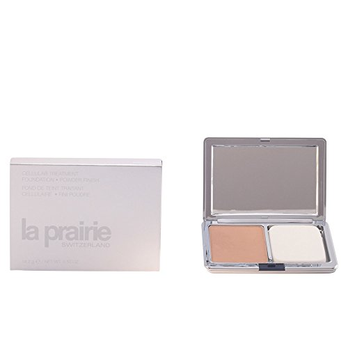 La Prairie Cellular Treatment Foundation Powder Finish, Sunlit Beige, 0.5 Ounce - La Prairie Beige Foundation