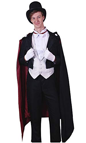 DAZCOS US Size Adult Crystal Chiba Mamoru Tails Cosplay Costume (Men Large) Black -