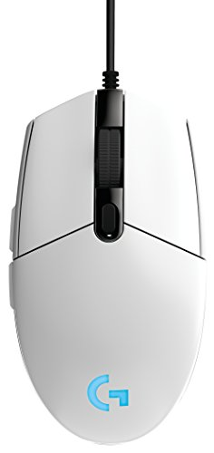 G203 Prodigy RGB Wired Gaming Mouse  White