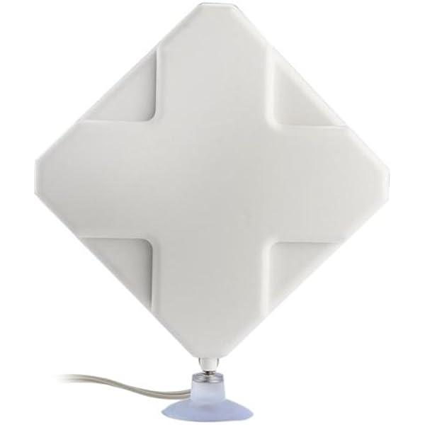 35dBi Antena 4G Conexión CRC9 con Cable 1.8M para ...