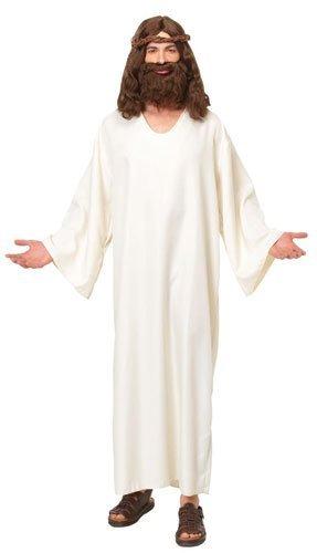 [Costume Culture Men's Jesus Robe Costume, Tan, Standard] (Biblical Robes)