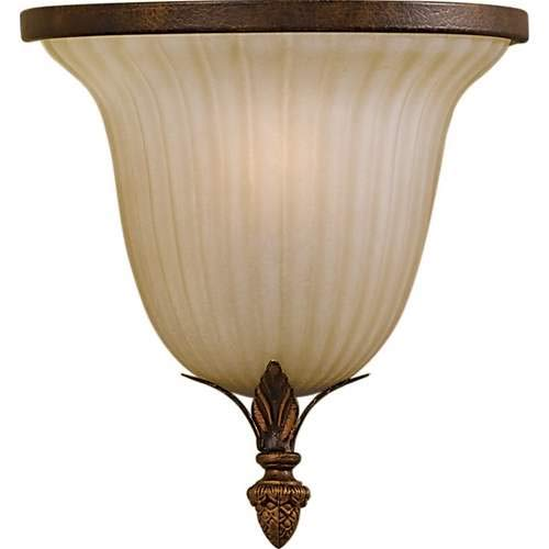 Feiss Sonoma Valley aged Tortoise Shell 1-Light Wall Sconce - Tortoise Wall Shell Aged