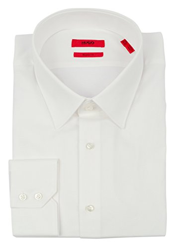 Hugo Boss Men's Red Label Regular Fit C-Menzo Broadcloth Dress Shirt-W-16-32/33 by HUGO BOSS