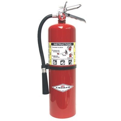 Amerex B456 ABC Dry Chemical Fire Extinguisher with Aluminum Valve, 10 lb. by Amerex Corporation by Amerex