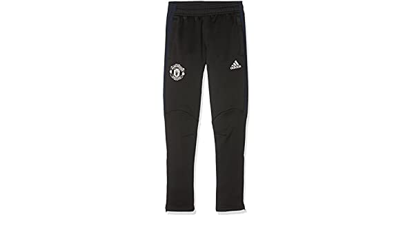 adidas MUFC Pre Pnt Y Pantalón de Chándal Manchester United FC ...