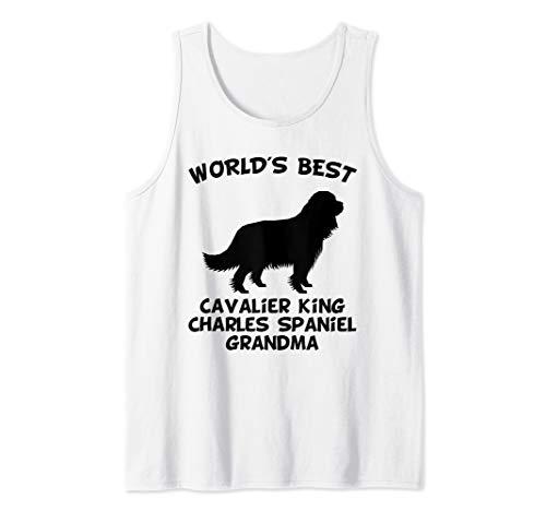 World's Best Cavalier King Charles Spaniel Grandma Dog Owner Tank Top