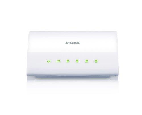 - D-Link Powerline AV 4-Port Switch with HomePlug AV 200Mbps and 4 Fast Ethernet Ports (DHP-346AV)
