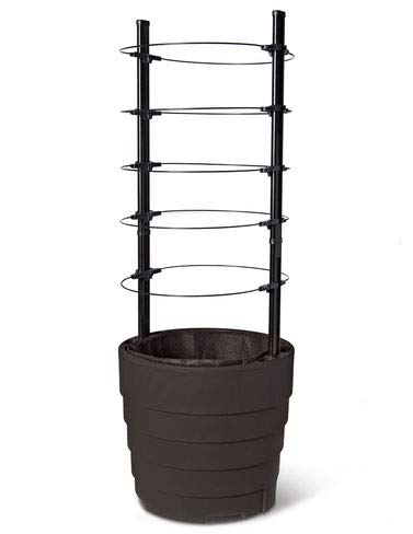Gardener8217;s Victory Self-Watering Planter with Support System