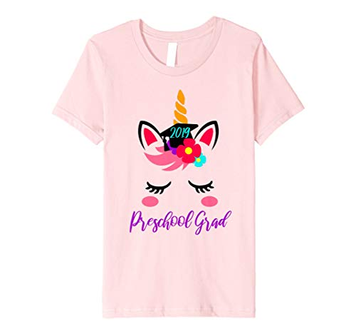 Kids Preschool PreK Grade Graduation 2019 Unicorn Lover Gift Tee ()