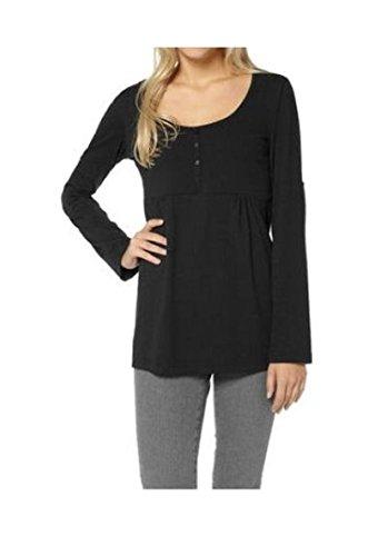 Damen Shirt aus 95 % Bio-Baumwolle schwarz, AM-DA-813942