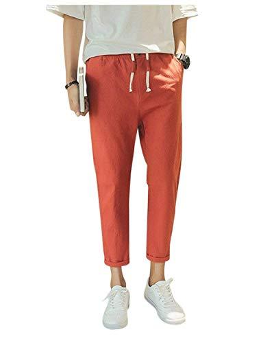 Otoño De Cordón Casuales Con Playa Senderismo Cómodo Hombres Sólido Casual  Pantalones Primavera Los Battercake Jogging ... 42d85be985f5