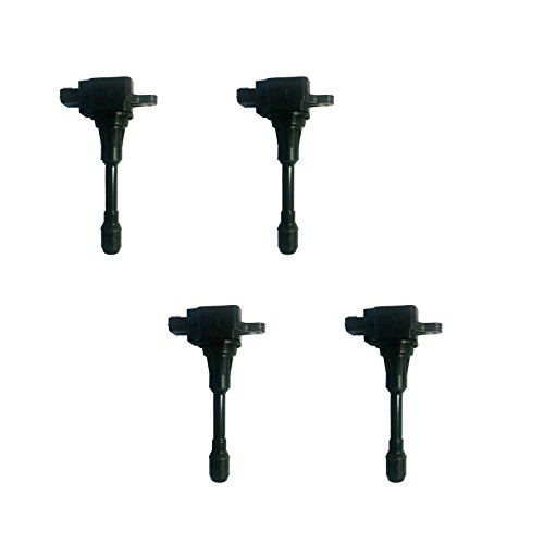 New AD Auto Parts High Performance Ignition Coil B184 Set of 4 For Infiniti FX50 M56 Nissan Altima Sentra Versa UF549