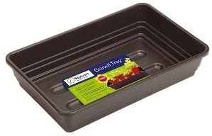 Stewart 52cm Premium Gravel Tray (Without Holes) - Black: Amazon.co.uk: Kitchen & Home