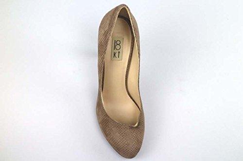 Chaussures femme 18 KT escarpins beige daim AR07 (38 EU)