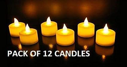Buy Satyam Kraft Led Tea Light Candle Diya For Diwali Decoration